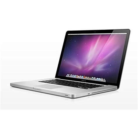 Apple X4 apple macbook pro md318ll a intel i7 2675qm x4 2 2ghz 4gb 500gb 15 4 quot silver scratch and