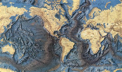 the topography of the floor is like world floor map earthly mission