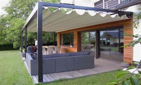 Veranda Pergola 3876 by Terrasoverkapping Aluminium Met Uitschuifbaar Doek Quadra
