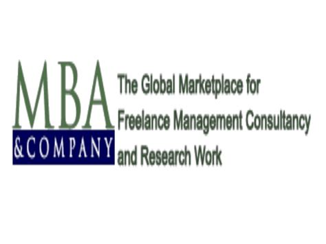 Csun Mba Consulting Projects by Freelance Mba Consultants Projects Management