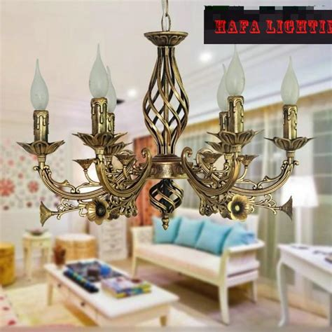 vintage wrought iron chandelier e14 lustres wrought iron chandelier e14 candle light antique iron chandelier industrial home