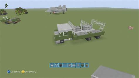 minecraft army truck spanklechank s minecraft tutorials how to make an army