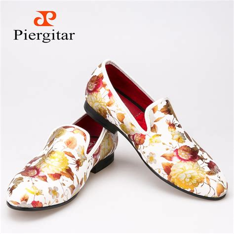 style printing flowers cloth shoes wedding