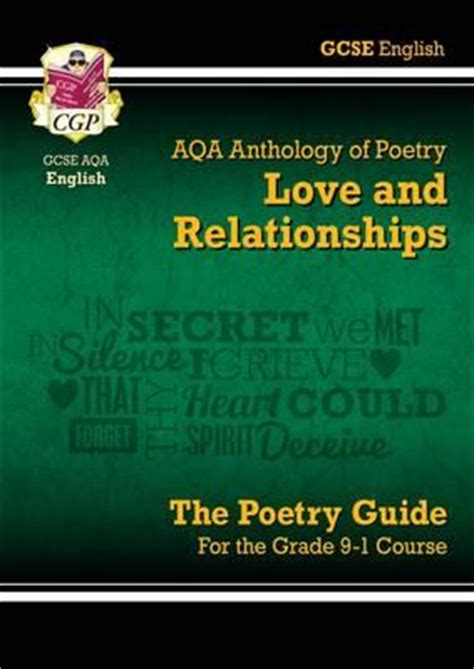 english literature themes love new gcse english literature aqa poetry guide love
