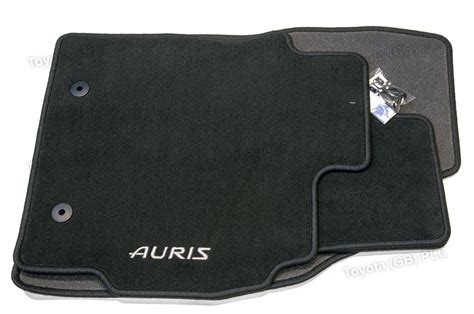 Toyota Auris Mats by Genuine Toyota 4x Car Textile Floor Mats Auris 01 10 10