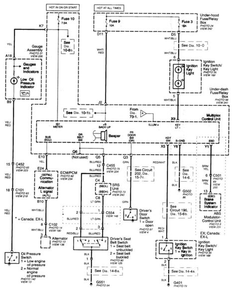 2003 honda cr v wiring diagrams wiring diagram with