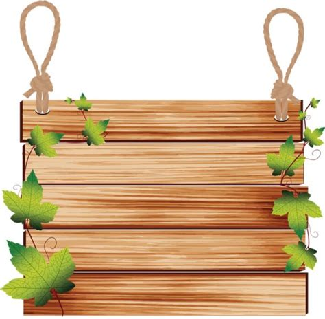 Wooden Photo Clip T0210 2 wooden board hanging clipart clipartxtras