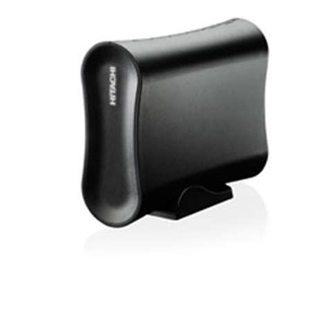 Hdd External 500gb Hitachi hitachi 0s02483 xl500 desk external drive 500gb 3 5 usb 2 0 480mbps black at