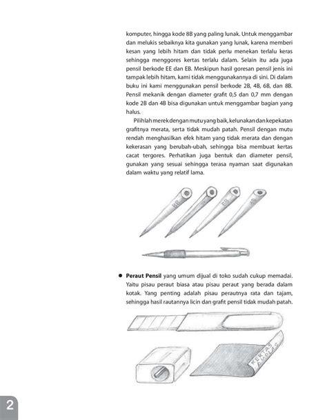 ebook tutorial menggambar dengan pensil melukis dengan pensil benda pemandangan book by patricia