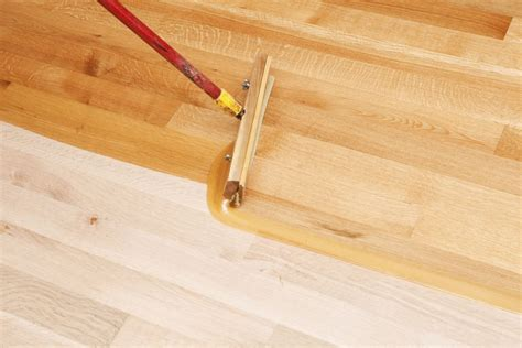 instructions    refinish  hardwood floor