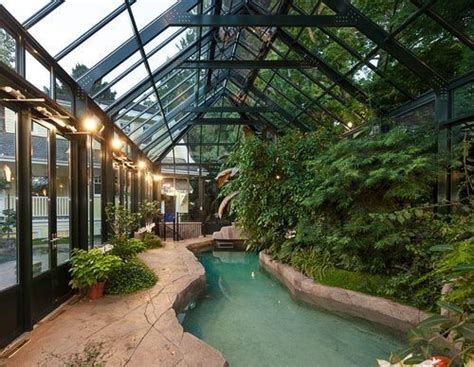 inside greenhouse ideas best 25 small indoor pool ideas on pinterest houses