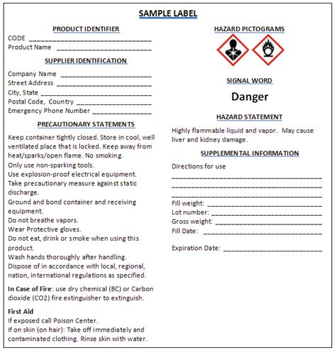 sle hazard communication program template inventory list chemical inventory list 100 images