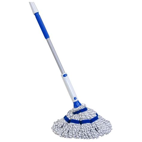Quickie WipeOut Microfiber Twist Mop 72036M 1   The Home Depot