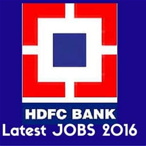 career hdfc bank hdfc 2016 personal banker and trainee debt management