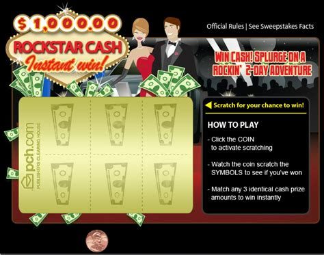 Win Instant Cash - win instant cash with pch scratch cards at the new pch com pch blog