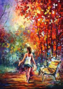 painting artist the colors of lenoid afremov