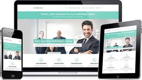 15 best free wordpress responsive business themes io themes