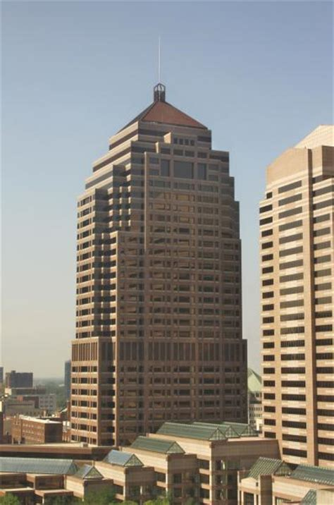Nationwide Corporate Office by Nationwide Plaza Columbus Ohio