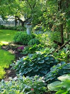 hosta and shade backyard ideas how to spruce up the sewer mound gardening pinterest