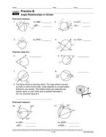 central angles and inscribed angles worksheet abitlikethis