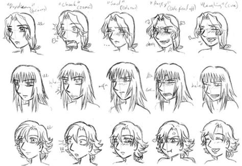 easy to draw anime faces emotions step by step guide how to draw 28 emotions on different faces drawing books books how to draw theartofanimeandmanga