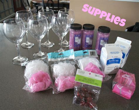 Baby Bath Shower Spray spa party supplies help you to throw a party at its best