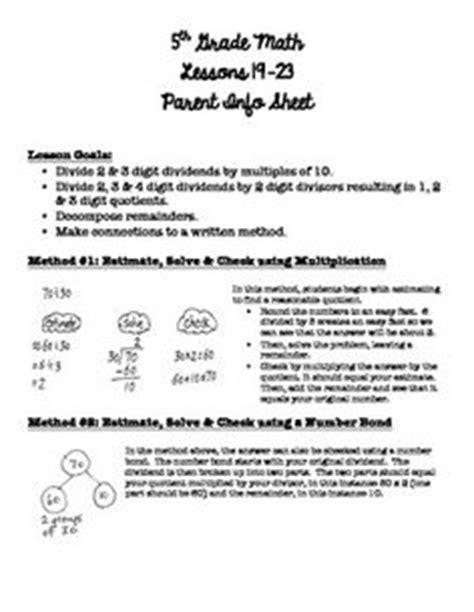 Parent Letter Common 5th Grade Math Module 2 Vocab Lalla Tpt 5th Grade Math Math And 5th Grades