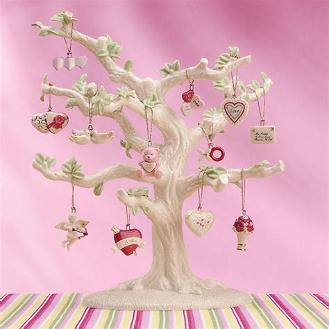 lenox valentine be mine miniature tree ornaments set of 12