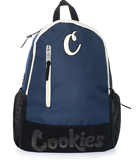 Cookie Backpack cookies thin mint navy smell proof backpack