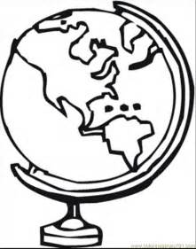 globe coloring page coloring pages globe technology gt astronomy free