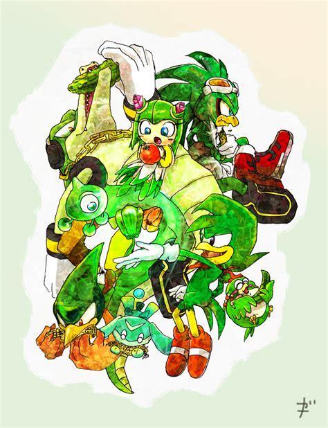 team chaotix sonic  hedgehog zerochan anime image board