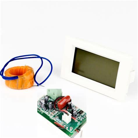 Best Quality Ac Digital Voltage Meter top quality new ac digital ammeter voltmeter lcd panel volt meter 100a 300v ip23 free