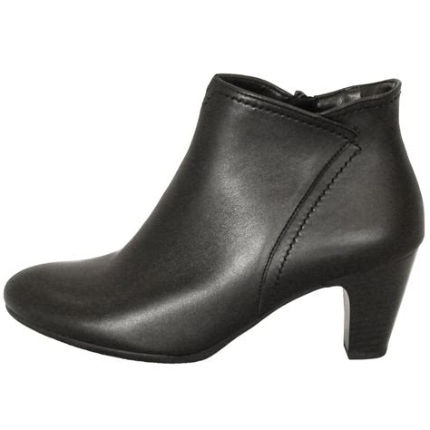 gabor boots jangle womens ankle boot in black mozimo