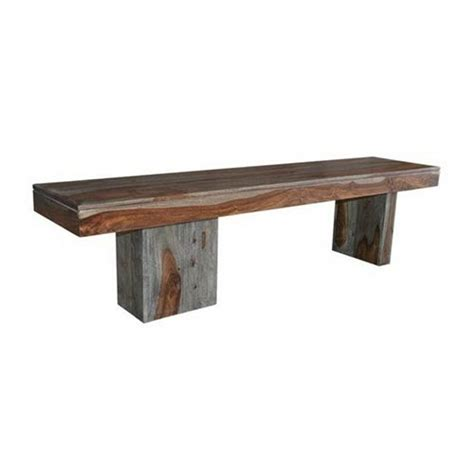 large wooden bench sheesham wash brown wooden bench coast to coast imports