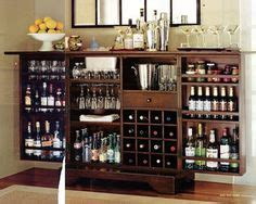 Seaton Bar Cabinet If A Traditional Bar Just Doesn T Fit With Your Room Design Try The Seaton Flip Top Bar Cabinet