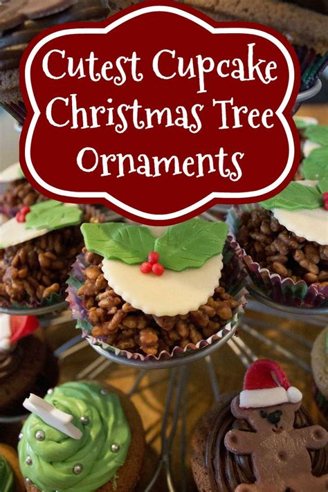 cupcake christmas tree decirations colorful cupcake tree ornaments you ll unique decorations