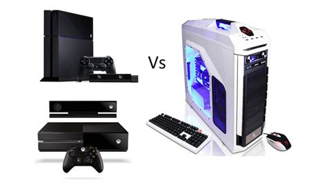 next console vs pc which is better for gaming pc or consoles gadgets in