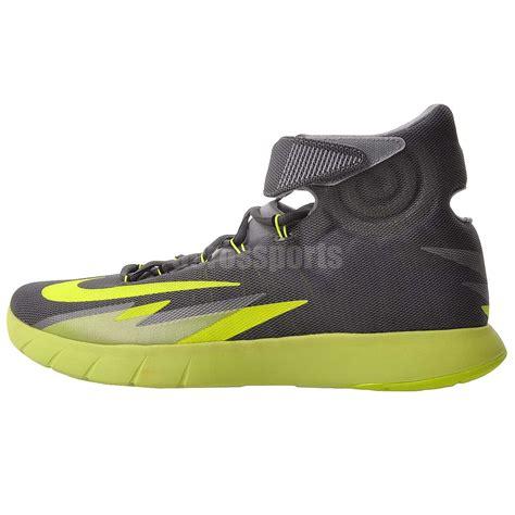 volt nike basketball shoes nike zoom hyperrev mens basketball shoes grey volt green