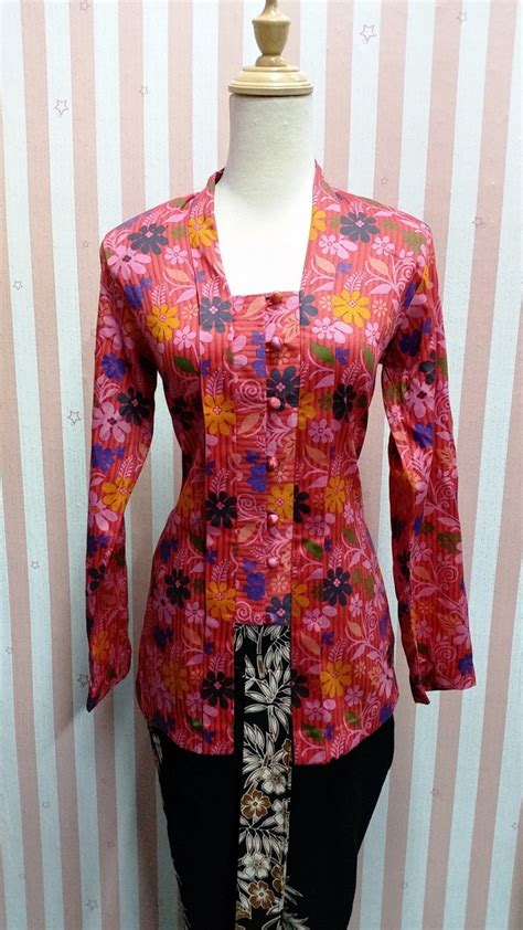 desain baju ibi gambar baju kurung moden songket terkini 2106 raya pink