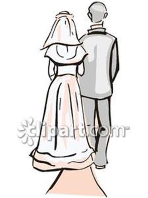 bride clipart walk  aisle bride walk  aisle