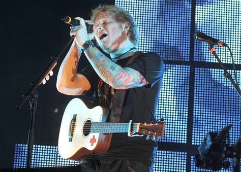 ed sheeran live ed sheeran picture 110 ed sheeran performs live for the