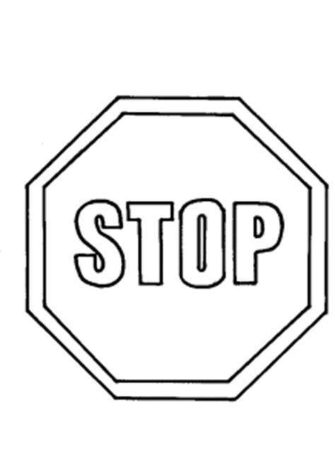 Baustellenschild Regeln by Verkehrszeichen Stop Ausmalbild Malvorlage Verkehrszeichen
