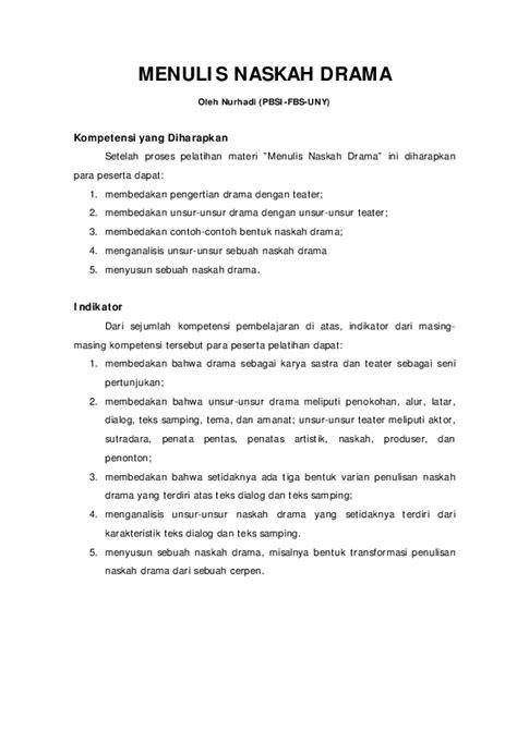 Struktur Teks Drama Dalam Bahasa Jawa - Berbagai Struktur