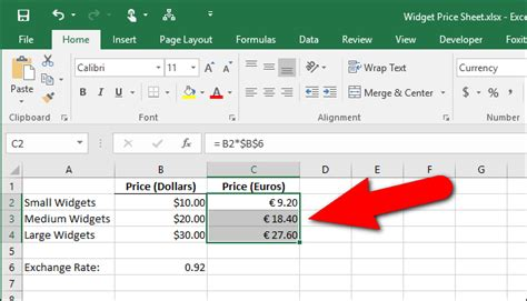 european currency format javascript how to change the currency symbol for certain cells in excel
