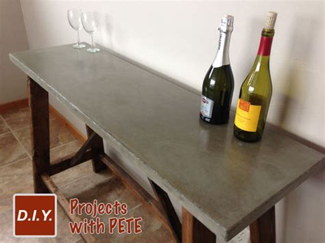 Cement Benches How To Build A Concrete Table For Beginners