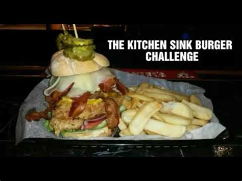 Kitchen Sink Burger The Kitchen Sink Burger Challenge