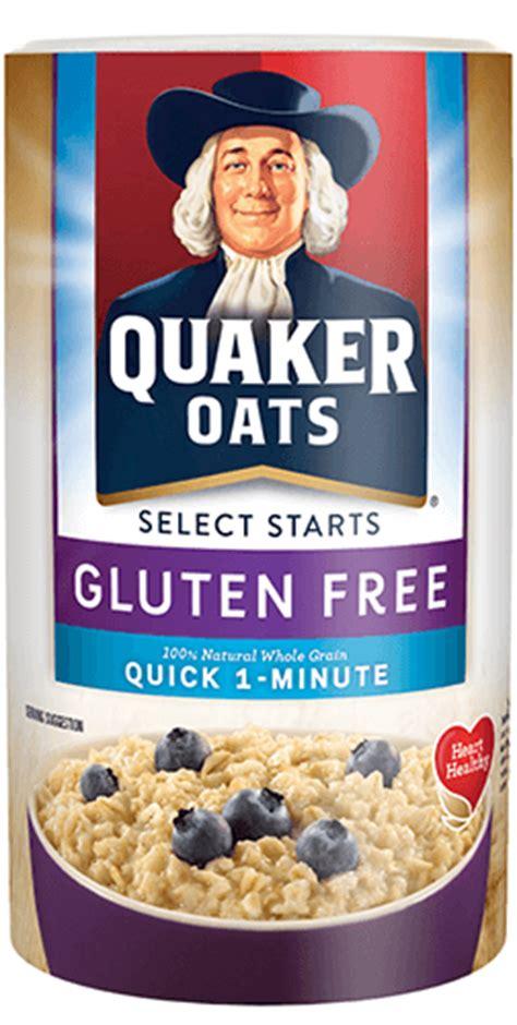 whole grain quaker oats nutrition facts product cereals quaker gluten free 1 minute