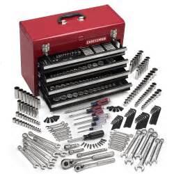 crafstman tool box craftsman 283 mechanics tool set with tool box