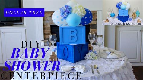 Baby Shower Diy Centerpieces by Dollar Tree Diy Baby Shower Decor Diy Boy Baby Shower
