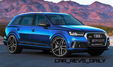 Audi Q7 Rs by Future Suv Renderings 2016 Audi Rs Q7 4